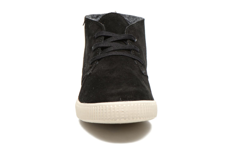 Zapatos con cordones Victoria Safari serraje M Negro vista del modelo