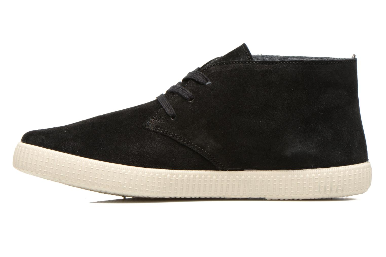 Zapatos con cordones Victoria Safari serraje M Negro vista de frente