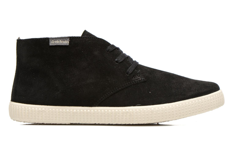 Chaussures à lacets Victoria Safari serraje M Noir vue derrière