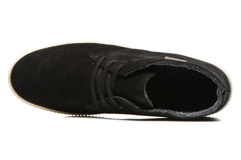 Zapatos con cordones Victoria Safari serraje M Negro vista lateral izquierda