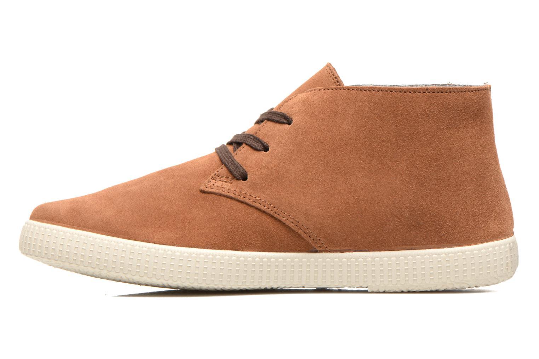 Chaussures à lacets Victoria Safari serraje M Marron vue face