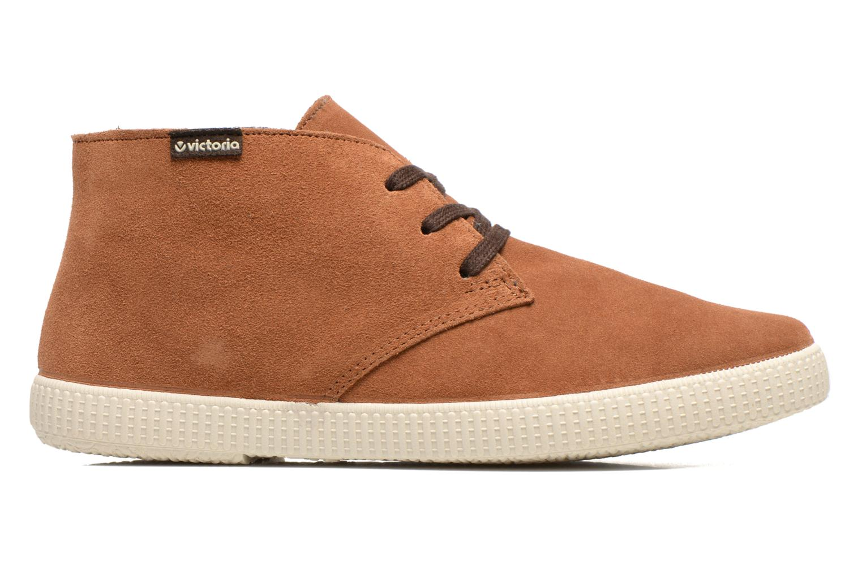 Chaussures à lacets Victoria Safari serraje M Marron vue derrière