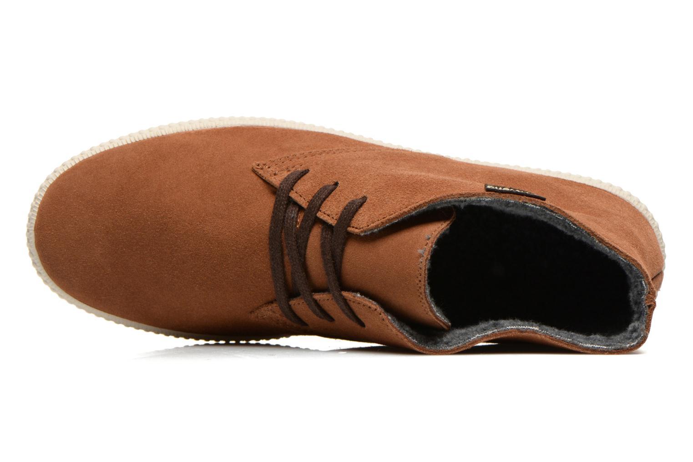 Zapatos con cordones Victoria Safari serraje M Marrón vista lateral izquierda