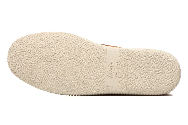 Zapatos con cordones Victoria Safari serraje M Marrón vista de arriba