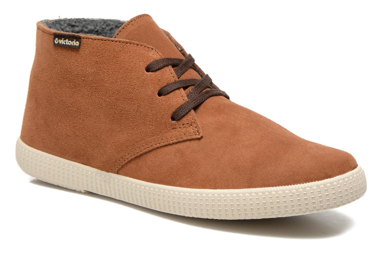 Chaussures à lacets Victoria Safari serraje M Marron vue détail/paire