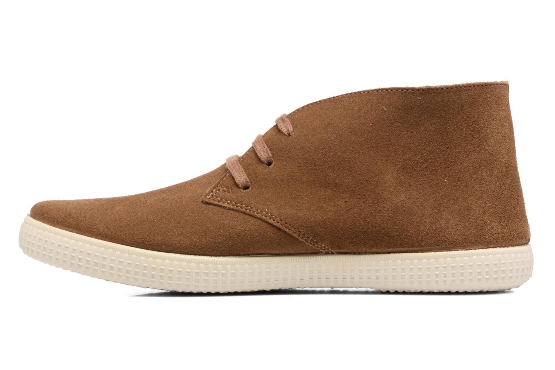 Lace-up shoes Victoria Safari serraje M Brown front view
