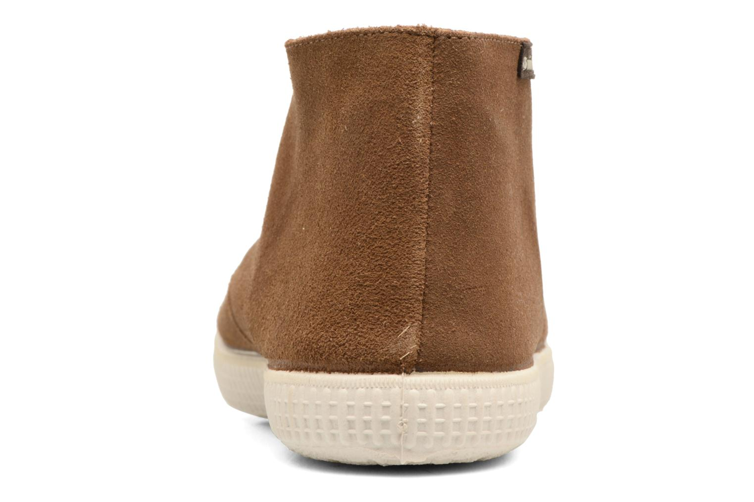 Lace-up shoes Victoria Safari serraje M Brown view from the right