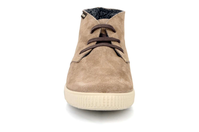 Chaussures à lacets Victoria Safari serraje M Beige vue portées chaussures