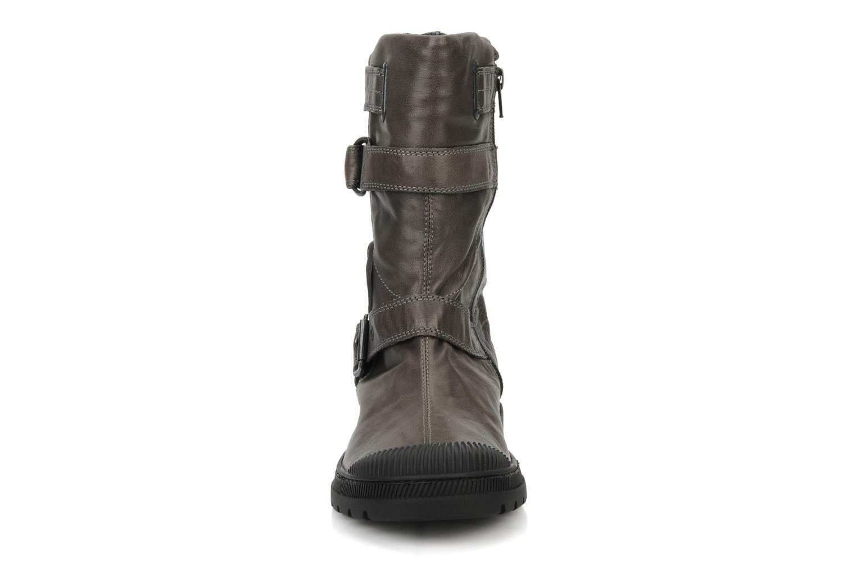 Bottines et boots Pataugas Aloe Gris vue portées chaussures