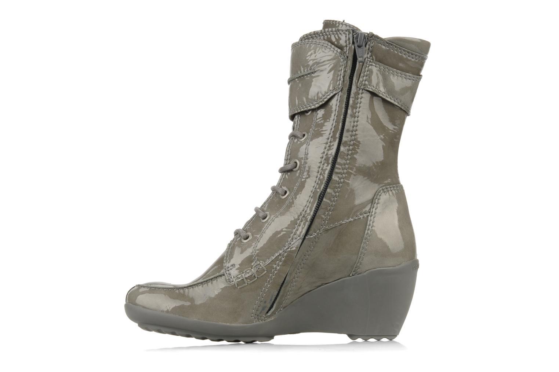 Bottines et boots Pataugas Leila w Gris vue face