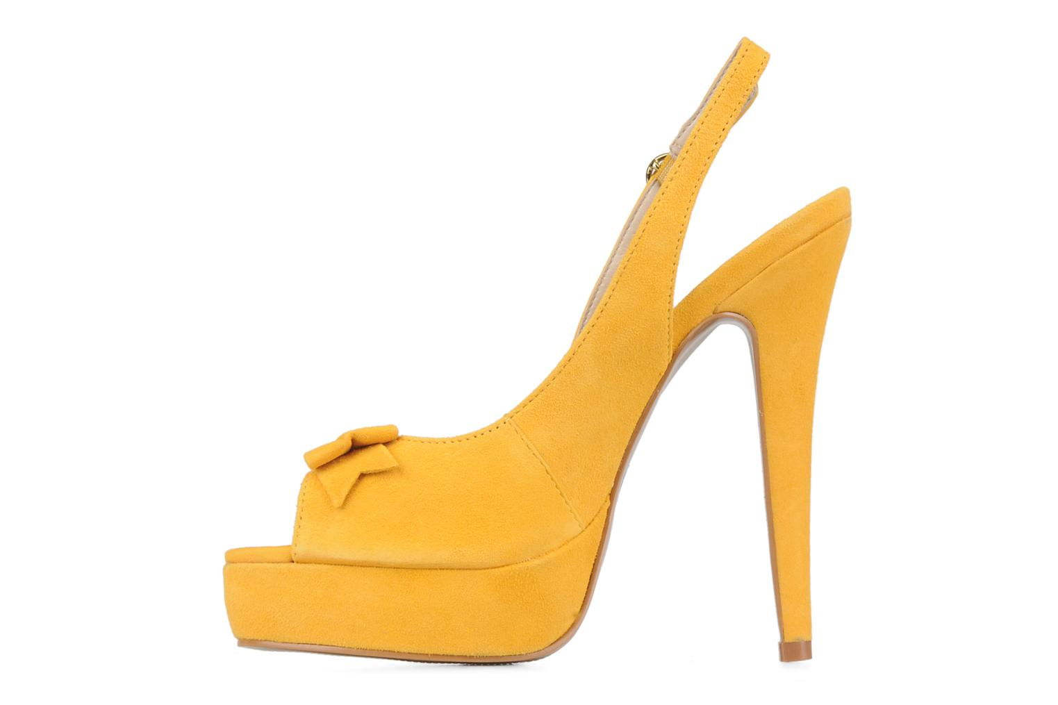 Sandals Carvela Gypsy Yellow front view
