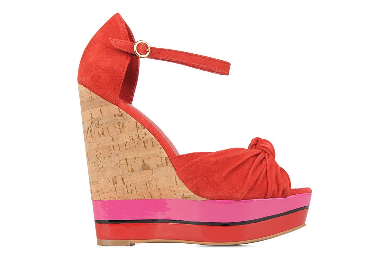 Sandales et nu-pieds Carvela Kennis Rouge vue derrière