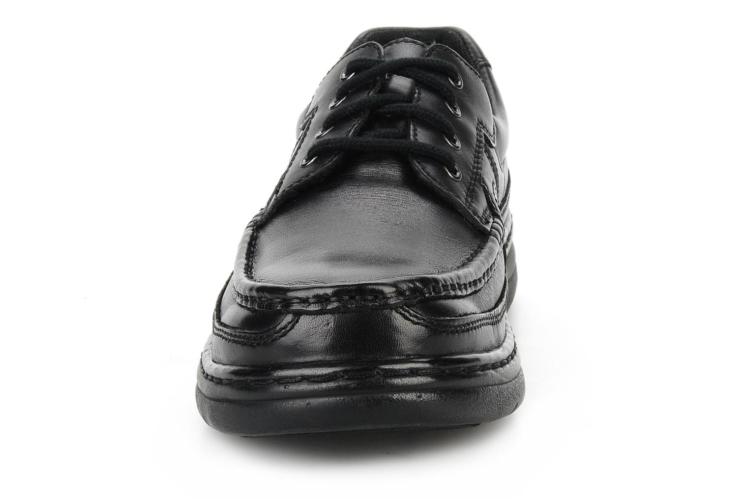 Lace-up shoes Hush Puppies Newmarket m Black model view