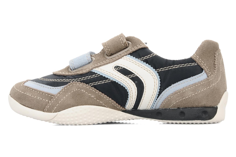 Sneakers Geox J charlie b Azzurro immagine frontale
