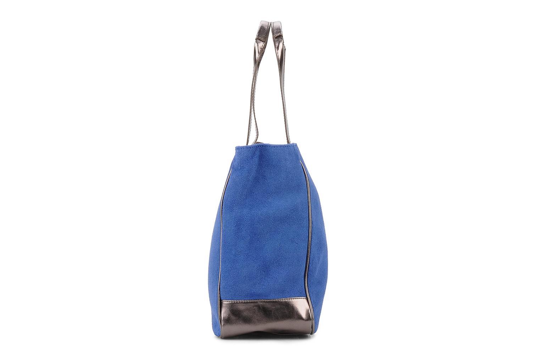 Handtaschen Georgia Rose Evening Cuir blau ansicht von rechts
