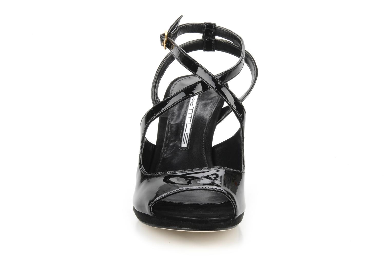 Sandalen Studio TMLS Galine schwarz schuhe getragen
