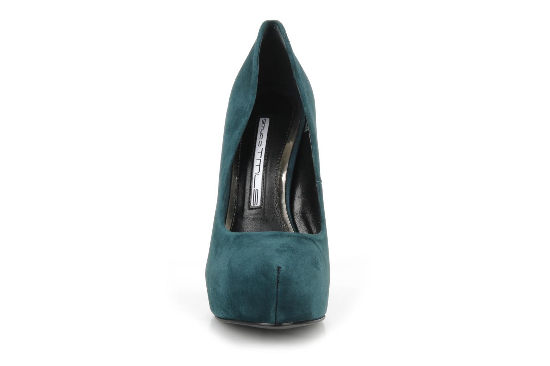 Zapatos de tacón Studio TMLS Stomp Azul vista del modelo