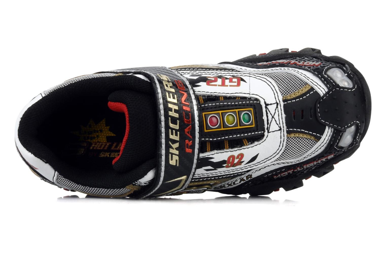 Sneakers Skechers Race car Bianco immagine sinistra