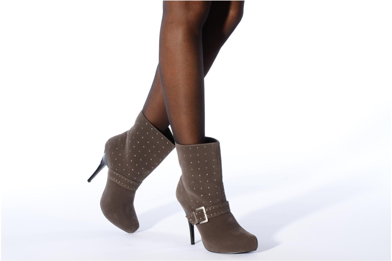 Stiefeletten & Boots Morgan Mael grau ansicht von unten / tasche getragen