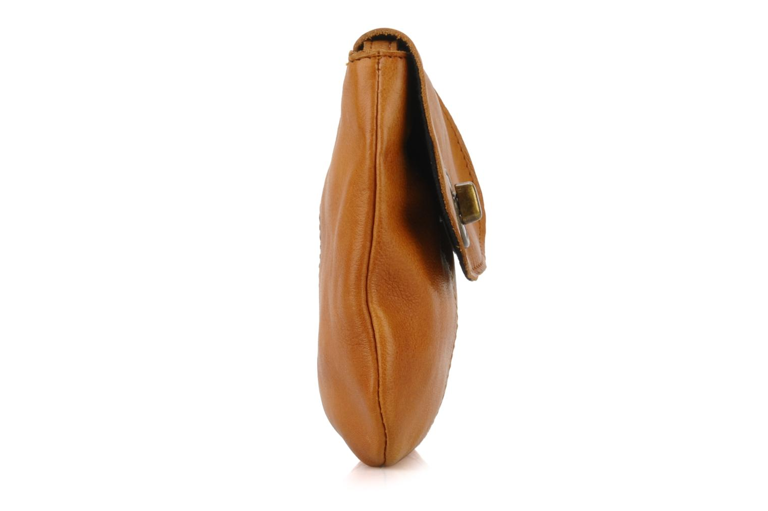Totally Royal leather Party bag Cognac
