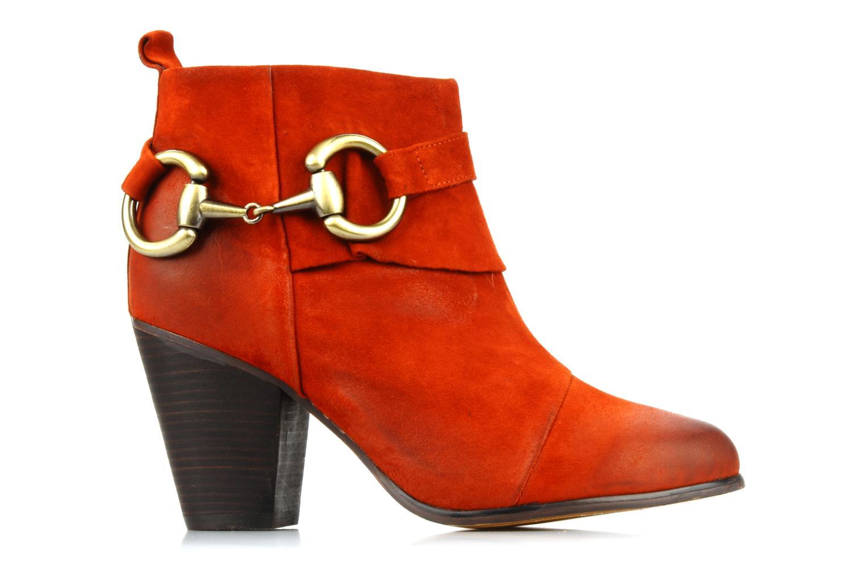 Boots en enkellaarsjes Jeffrey Campbell Cityslick Oranje achterkant