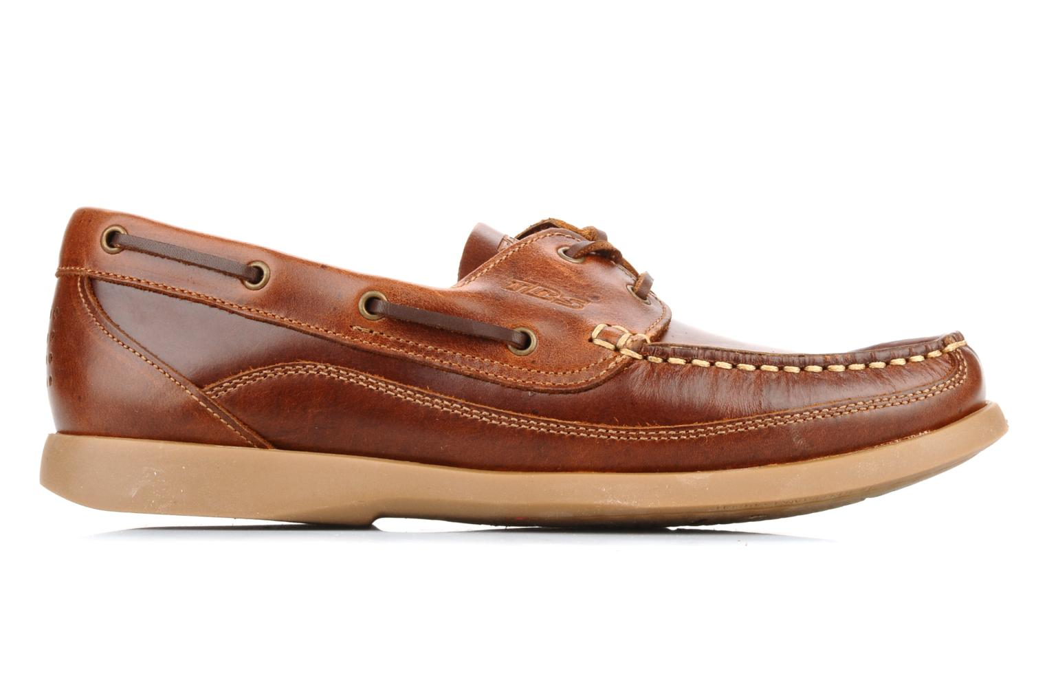 Lace-up shoes TBS Neuron Brown back view
