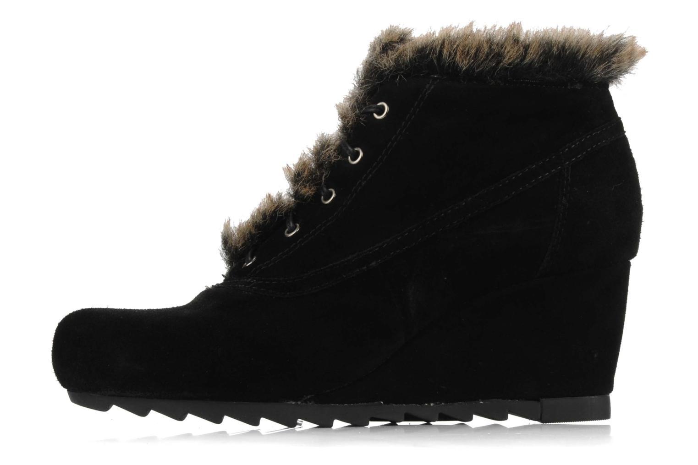Chaussures à lacets Earthies Earthies seriph Noir vue face