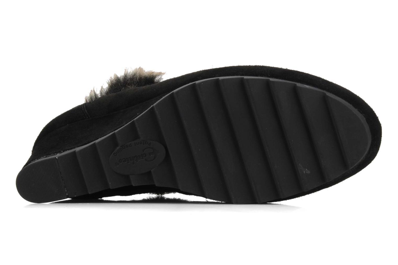 Chaussures à lacets Earthies Earthies seriph Noir vue haut