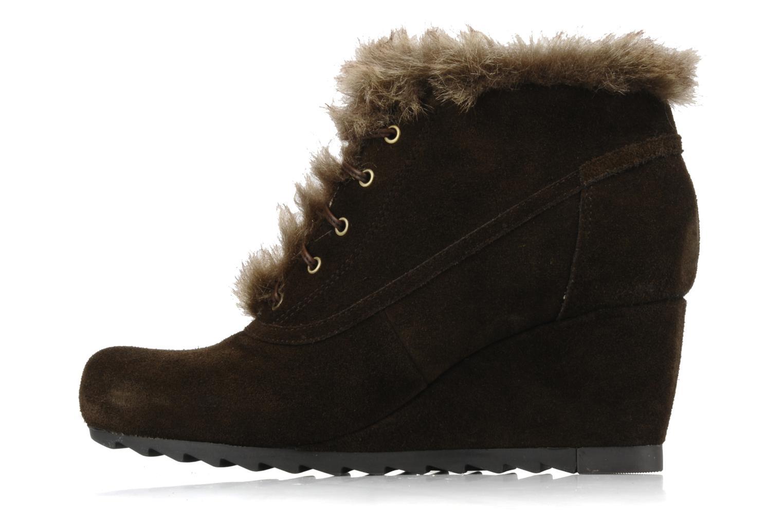 Chaussures à lacets Earthies Earthies seriph Marron vue face