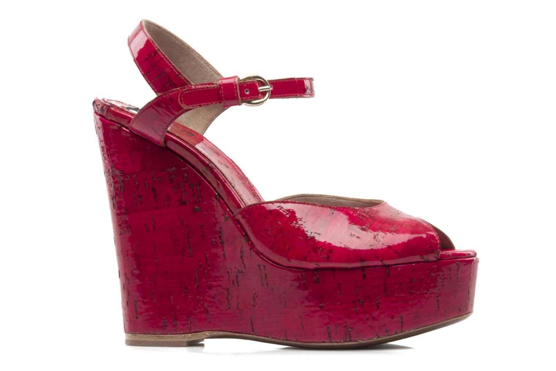 Sandales et nu-pieds D&G Piral Rouge vue derrière