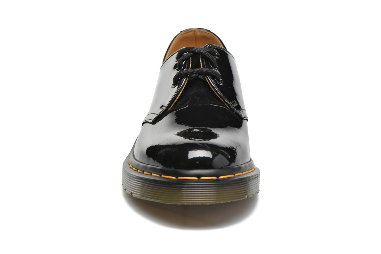 Schnürschuhe Dr. Martens 1461 w schwarz schuhe getragen