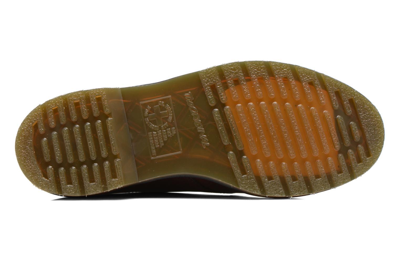 Snörade skor Dr. Martens 1461 w Vinröd bild från ovan