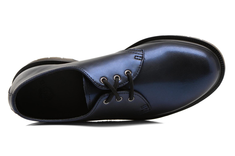 Schnürschuhe Dr. Martens 1461 w blau ansicht von links