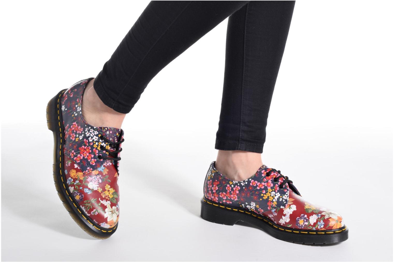Chaussures à lacets Dr. Martens 1461 W Bleu vue bas / vue portée sac