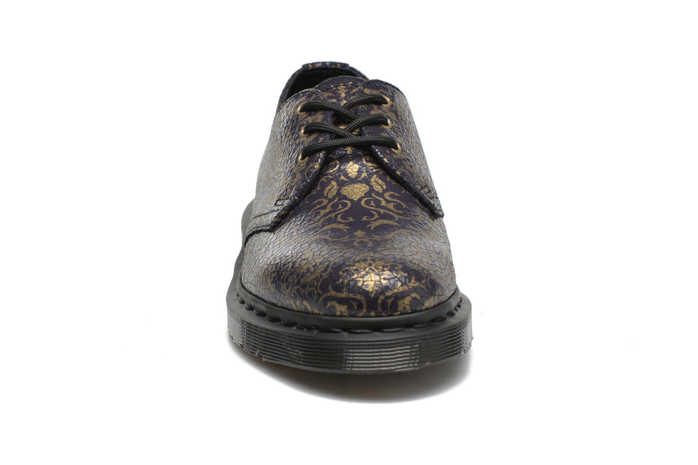 Chaussures à lacets Dr. Martens 1461 W Bleu vue portées chaussures