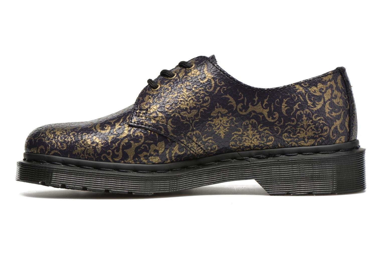 Chaussures à lacets Dr. Martens 1461 W Bleu vue face
