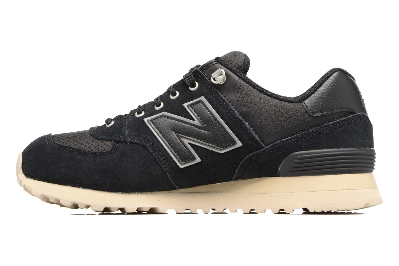 Sneakers New Balance Ml574 Nero immagine frontale