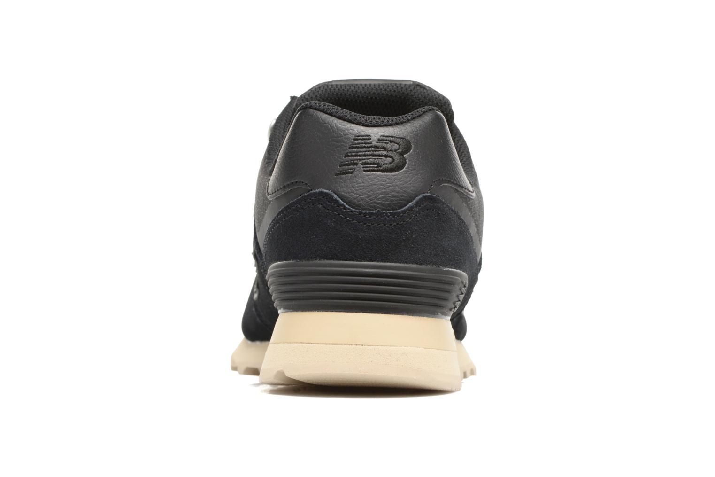 Sneakers New Balance Ml574 Nero immagine destra