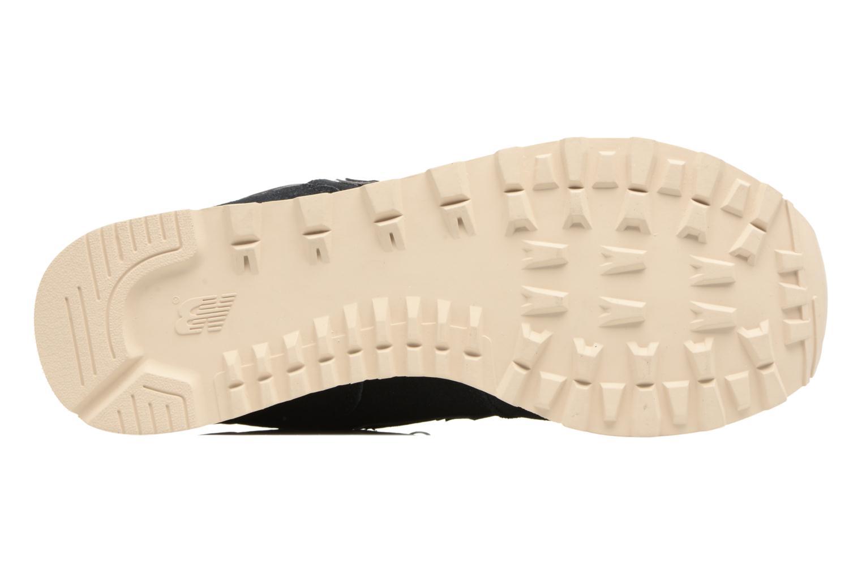 Sneakers New Balance Ml574 Nero immagine dall'alto