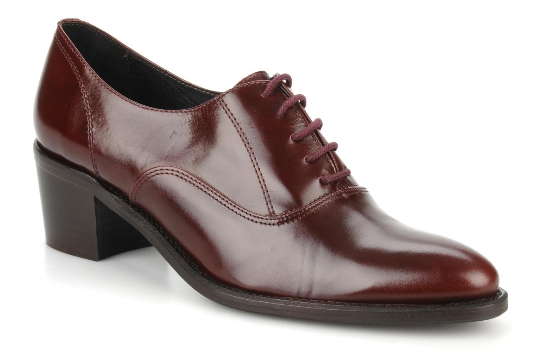 Zapatos con cordones Georgia Rose Daporo Vino vista de detalle / par