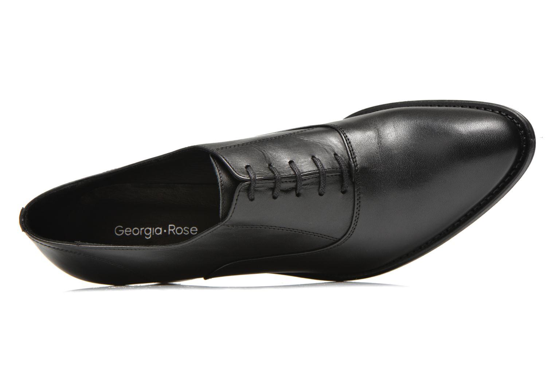 Chaussures à lacets Georgia Rose Daporo Noir vue gauche