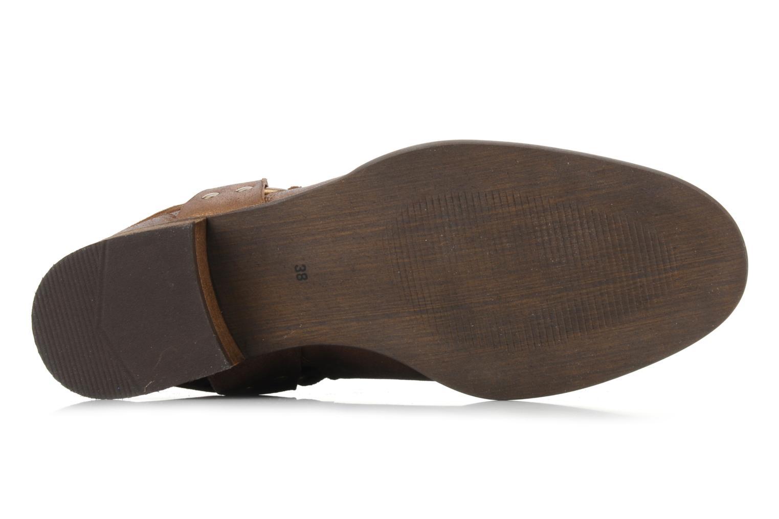Bottines et boots Georgia Rose Dasine Or et bronze vue haut