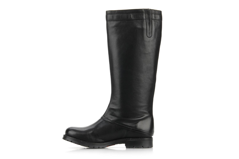 Støvler & gummistøvler Georgia Rose Damone Sort se forfra