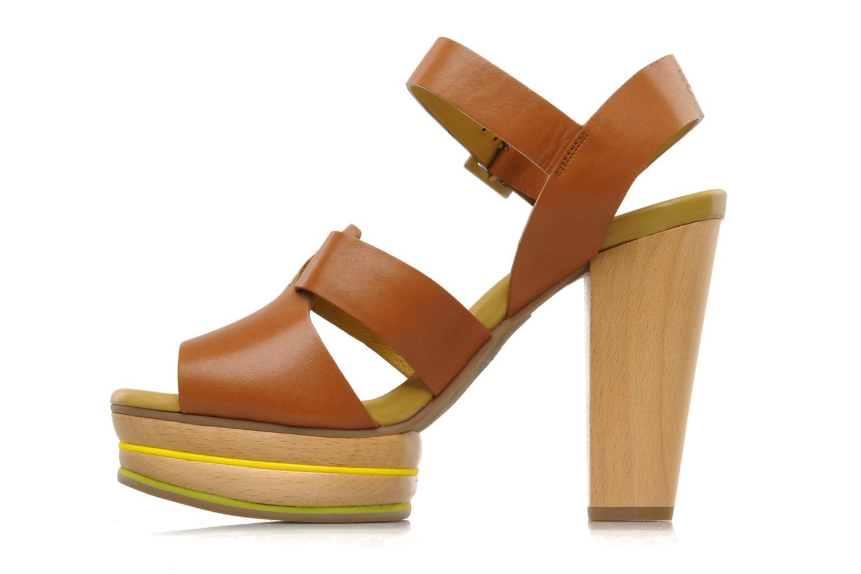 Sandales et nu-pieds See by Chloé Palma Marron vue face