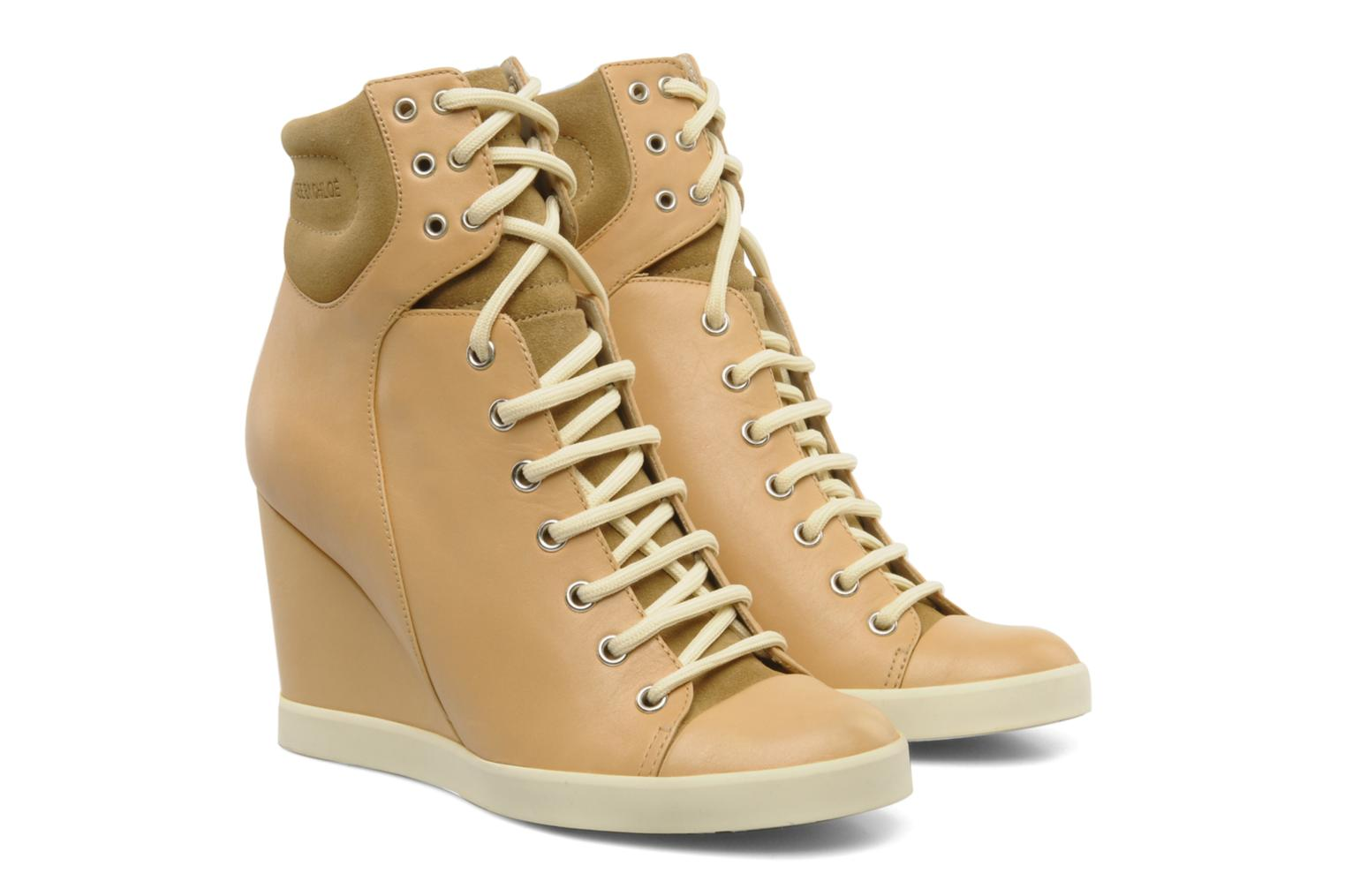 Sneakers See by Chloé Timota Beige 3/4'