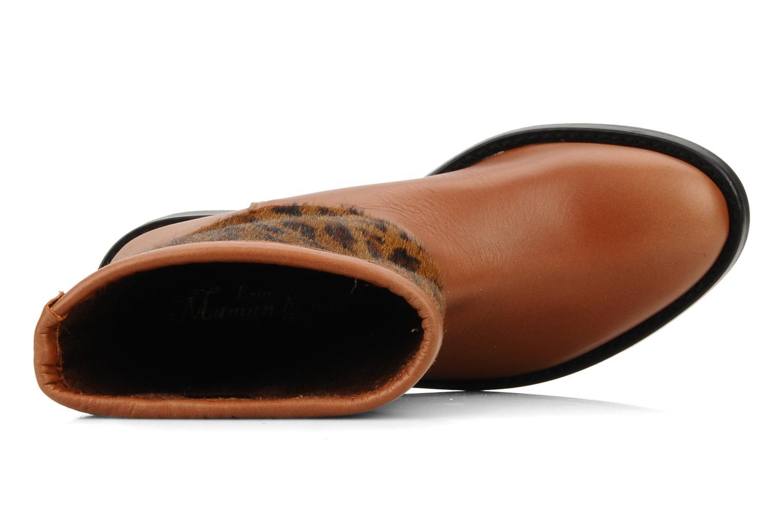 Stephanie porto Potro marron botal