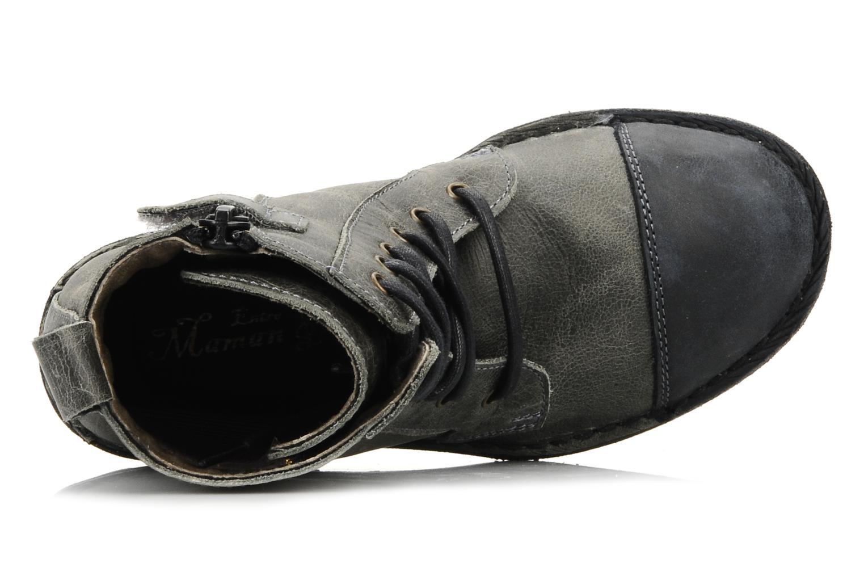 Stiefeletten & Boots C'Entre Maman & Moi! Mitad grau ansicht von links
