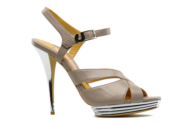 Sandali e scarpe aperte Charles Jourdan Marilyne Grigio immagine posteriore