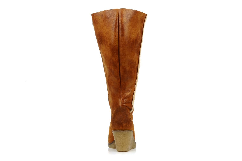 Stiefel Castaluna Stella XL braun ansicht von rechts