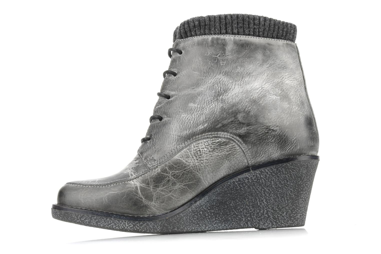 Stiefeletten & Boots Castaluna Mildred L grau ansicht von vorne